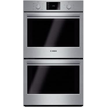 Bosch HBL5651UC 500 30 Stainless Steel Electric Double Wall Oven Convection