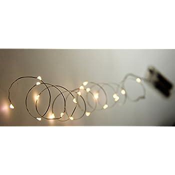 Amazon.com: Everlasting Glow LED Micro Light String 18 Warm White ...