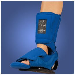 Ankle Contracture Boot With Sole, Size: Small, Calf Circumference: 10''-14'', Foot Circumference: 7''-9 by Rolyn Prest