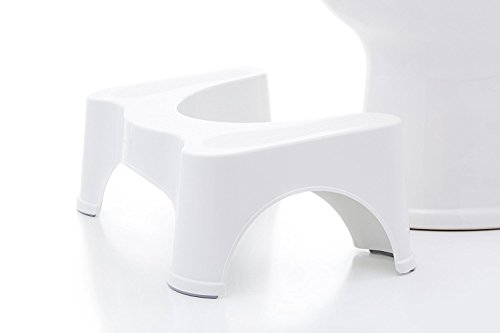 ULWHome – Bathroom Utility Step Stool (White)