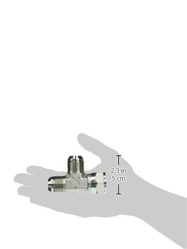 Brennan Industries 6602-12-12-12-FG Forged Steel Tee Tube Fitting 3//4 Male JIC x 3//4 Female JIC Swivel x 3//4 Male JIC 1-1//16-12 SAE x 1-1//16-12 SAE x 1 1//16-12 SAE Thread BREGG 1-1//16-12 SAE x 1-1//16-12 SAE x 1 1//16-12 SAE Thread