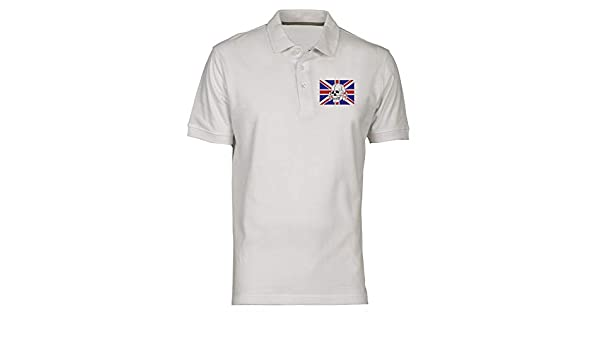 Polo por Hombre Blanco TUM0015 Chelsea Headhunters: Amazon.es ...