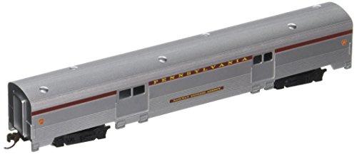 Bachmann Industries Streamline Fluted 2-Door Baggage Car - PRR (N Scale), 72'