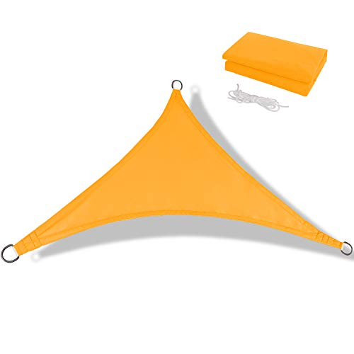Anecoul Waterproof Sun Shade Sail UV Blocker Sunshade