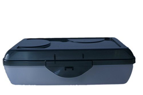 Sterilite Transparent Pencil Case Black