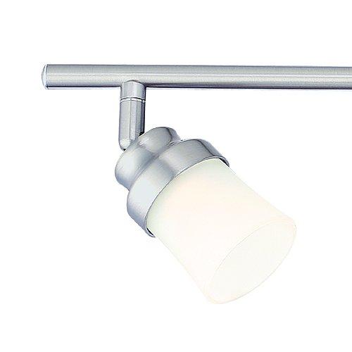 Led Track Lighting Brushed Nickel: Designers Fountain EVT102027-35 Modern 3'. Brushed Nickel