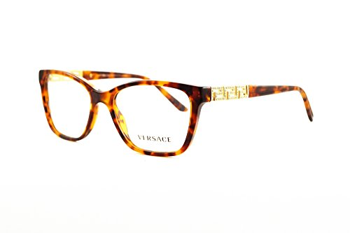 Versace Women's VE3192B Eyeglasses Marbled Black / Green / Blue - Versace Sunglasses Prescription