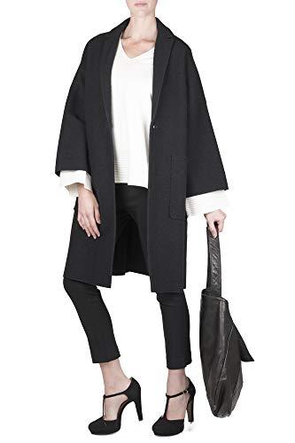 Cappotto Donna Nero Liviana F8aq98 O Conti 5xAqgHwF