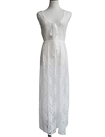 a945e0453122 ELECTROPRIME Women's Vintage/Sexy/Beach/Lace/Party/Honeymoon/Maxi  Micro-Elastic Sleeveless Maxi Dress (Lace): Amazon.in: Clothing &  Accessories
