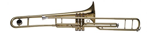 Stagg WS-TB285 Tenor Valve Trombone with Case - Eb Alto Trombone
