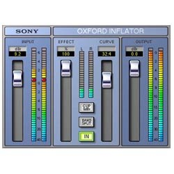 Oxford Inflator (Sony Oxford Inflator Plug In (Pro Tools LE))