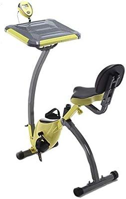 HLeoz Bicicleta Estática Plegable, Resistencia Variable Ruido Bajo ...