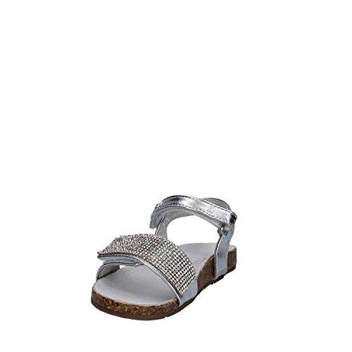 Lulù LT050049S Sandalo velcro Kind Silber