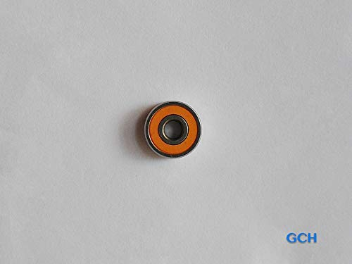 Quicklock Coax Connectors - Ochoos S697 2OS CB ABEC7 7X17X5mm Stainless Steel Hybrid Ceramic Hub Shaft Bearings by GCH