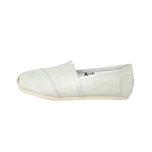 Espadrilles Femmes Plat Loafers Hommes Beige Décontractée Unie Chaussures Mode Couleur Dooxi Confort Rv7aAWOq5n