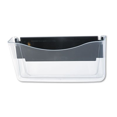 Unbreakable Magnetic Wall File, A4/Letter, Clear, Sold as 1 Each by Rubbermaid (Metal Rubbermaid Cabinet)