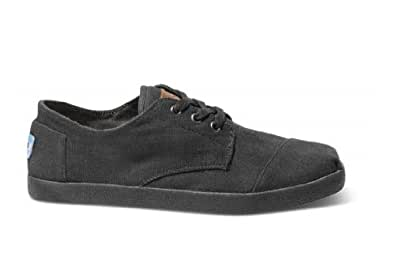 TOMS Men's Paseo Shoe Black On Black Size 7 D(M) US