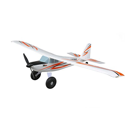 (E-flite UMX Timber RC Airplane Ultra Micro STOL BNF Basic with Safe Select | AS3X Rx | LED Lights (Transmitter, Battery, and Charger Not Included))