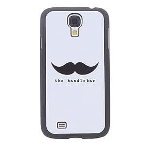 Bkjhkjy The Handlebar Pattern Hard Case for Samsung Galaxy S4 I9500
