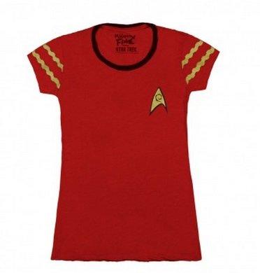 Star Trek Starfleet Uniform Juniors Logo