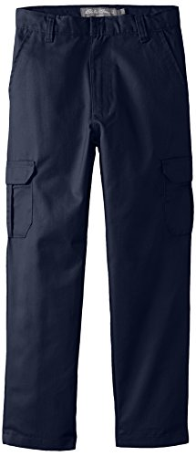 - Eddie Bauer Big Boys' Twill Pant (More Styles Available), Navy-IIIFBE, 16