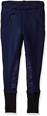TuffRider Children's Unifleece Pull-On Stretch Fleece Knee Patch Winter Bree