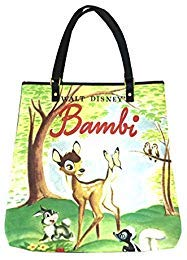 Disney Parks Shanghai Resort Bambi Tote Bag Purse