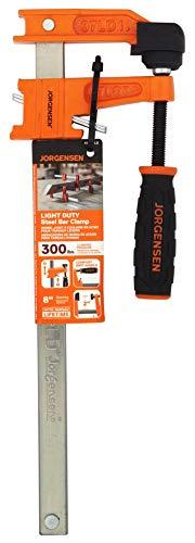 Jorgensen 3708-LD 8 Mini Light-Duty Steel Bar Clamp