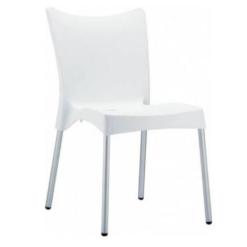 Juliet Frame Accessory - Compamia Juliette Resin Dining Chair - Set of 2 (White)