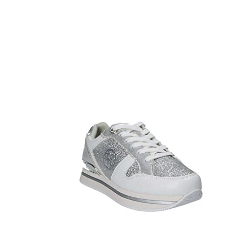 para Guess co Footwear Mujer Zapatillas B Lady Argento Active qIpwrI