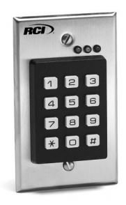 Rci 9212I Interior Use Stand Alone Keypad
