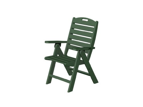 Recycled Plastic Nautical Highback Chair by Polywood Fram...