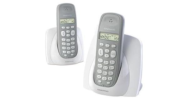 Daewoo DTD 1000 DUO - Teléfono Fijo: Amazon.es: Electrónica