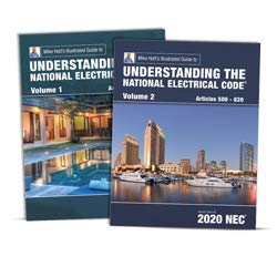 Understanding the National Electrical Code Volume 1 and 2 textbooks, 2020 NEC