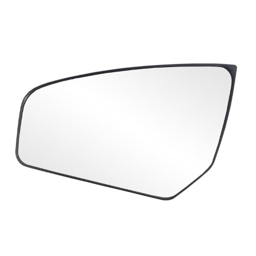 Fit System 88234 Nissan Sentra Left Side Manual Remote/Power Replacement Mirror Glass with Backing Plate
