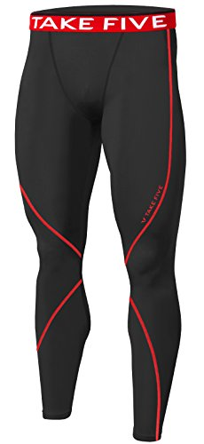 JustOneStyle New Men Sports Apparel Skin Tights Compression Base Under Layer Long Pants
