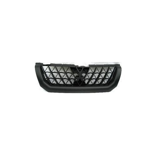 Garage-Pro Grille Assembly for MITSUBISHI MONTERO SPORT 00-01 Ptd-Black ()