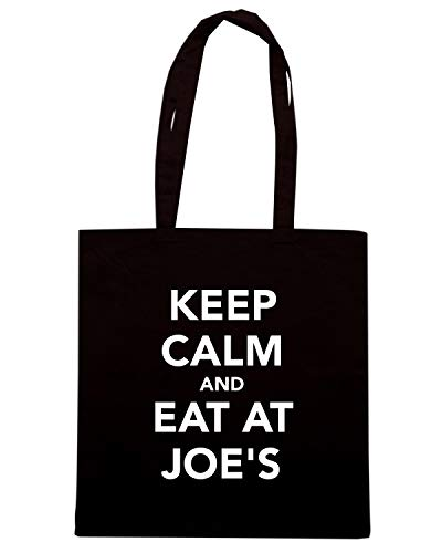 EAT Shirt JOE'S Borsa Nera Shopper Speed TKC2664 KEEP AT CALM AND R8qSxZw7