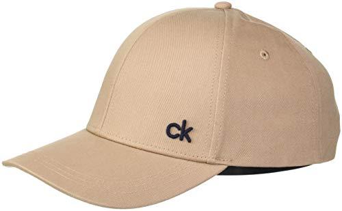 Béisbol Baseball Beige Hombre Calvin Cap 007 M Gorra para Tobacco de Klein CK 0E66xwAqT