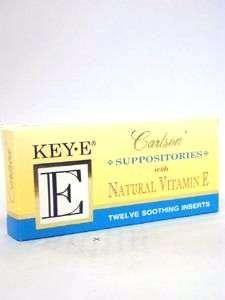 Carlson Labs Vitamin E Suppositories 12 supp