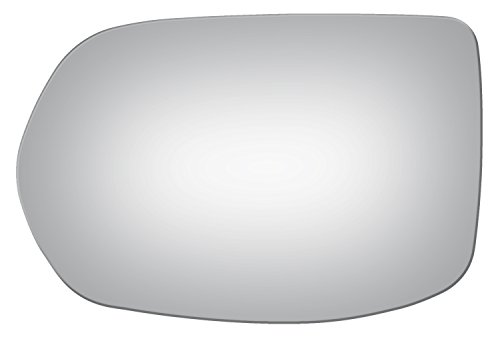 (Burco 4188 Flat Driver Side Replacement Mirror Glass for 2007-2011 Honda CR-V (2007, 2008, 2009, 2010,)