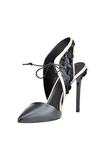 GREYMER Femme MCGLCAT03029E Noir Cuir Chaussures À Talons MHsRZBXk