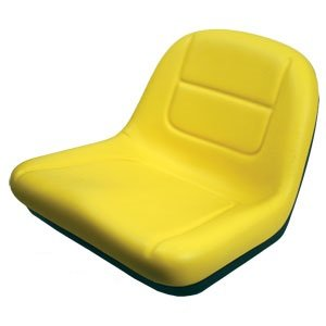 AI Products Deluxe High Back Seat for John Deere Riding Mower Lawn Tractor Models G110, L100, L105, L107, L110, L118, L120, L130, 135, 145