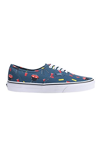 VANS Unisex AUTHENTIC Sneakers Skate Shoes (7 B(M) US Women / 5.5 D(M) US Men, (Pool Vibes) Blue Ashes/True White)