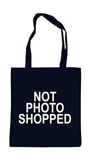 Not Photo Shopped Bolsa Negro