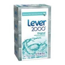 Lever 2000 Original Deodorant Bar Soap, 3.15 Ounce - 4 per pack -- 12 packs per case.