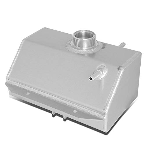 (For 15-18 Ford Mustang Cooling System Aluminum Radiator Coolant Expansion Overflow Tank Reservoir)