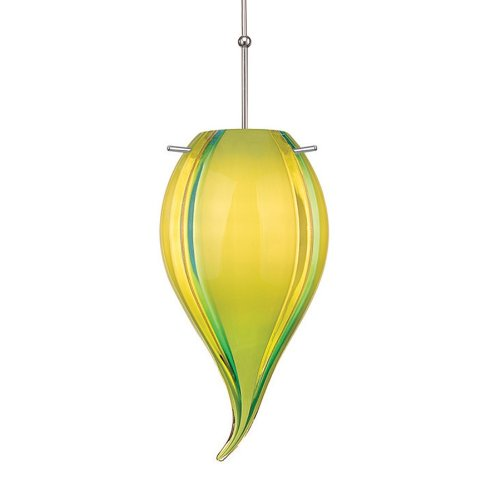 Carnival Glass Pendant Lights in US - 2