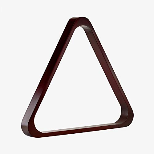 Pro Series TR8-C Doweled Wooden Billiard Ball 8-Ball Triangle Rack, Cherry