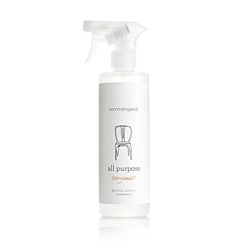 Common Good - All Purpose Cleaner, Pant-Based and Eco-Friendly Cleaner, Safe for Children, Pets and The Environment, Free from Parabens and Sulfates, Leaping Bunny Certified (Bergamot Scent, 16 oz) by Common Good
